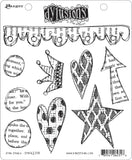 Dyan Reaveley's Dylusions Cling Stamp Collections Star Struck 8.5inX7in