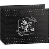 D-Ring Binder Chalkboard Album Shared 12inx12in