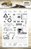Find It Trading Amy Design Clear Stamps Daily Transport