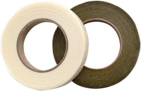 Floral Tape Gold Cream 2pk