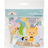 Doodlebug Odds and Ends Die Cuts Kitten Smitten 88pk