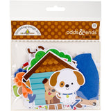 Doodlebug Odds and Ends Die Cuts Puppy Love 95pk