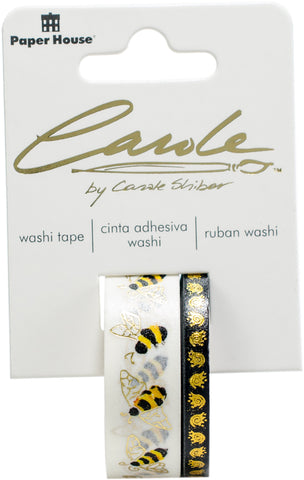 Paper House Washi Tape Bees By Carol Shiber 2pk