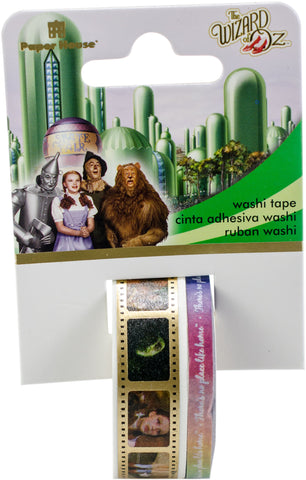 Paper House Licensed Washi Tape Wizard Of Oz 2pk