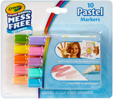 Crayola Color Wonder Mini Markers Pastels 10pk
