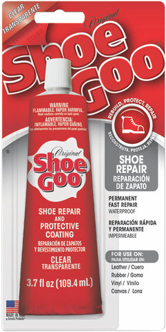 Shoe Goo Shoe Repair Adhesive Clear 3.7oz