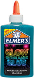 Elmer's Glow In The Dark Liquid Glue Blue 5oz