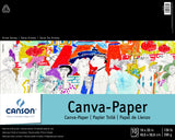 Canson Artist Series Canva Paper Pad 16inX20in 10 Sheets