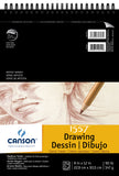 Canson Artist Series Drawing Pad Classic Cream 9inX12in 24 Sheets