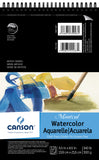 Canson Montval Spiral Watercolor Pad 5.5inX8.5in 12 Sheets