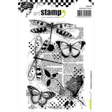 Carabelle Studio Cling Stamp A6 Dragonflies and Butterflies