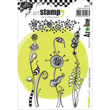 Carabelle Studio Cling Stamp A6 Crazy Weeds and Texture