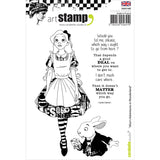 Carabelle Studio Cling Stamp A6 Alice In Wonderland