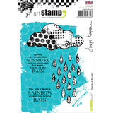 Carabelle Studio Cling Stamp A6 Dancing In The Rain