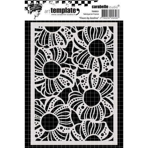 Carabelle Studio Template A6 Flowers