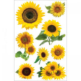 3D Sticker Sunflower