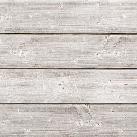Jillibean Soup Mix The Media Wooden Plank Weathered White 12inX12in