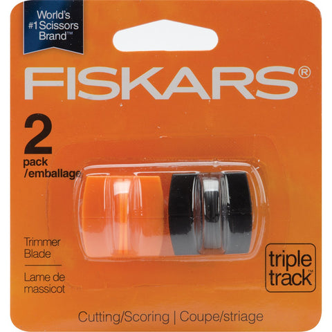 Fiskars TripleTrack High Profile Replacement Blades Straight and Scoring Style I 2pk