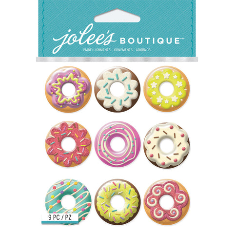 Jolee's Boutique Dimensional Stickers Donuts
