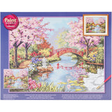 Paint Works Paint By Number Kit Japanese Garden 20inX16in