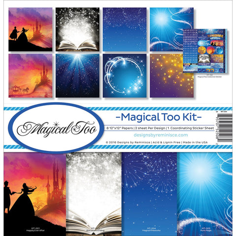 Reminisce Collection Kit Magical Too 12inX12in