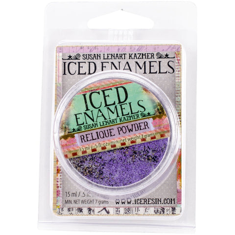 Iced Enamels Relique Powder Amethyst