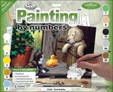 Junior Large Paint By Number Kit 3 Buddies 15.25inX11.25in