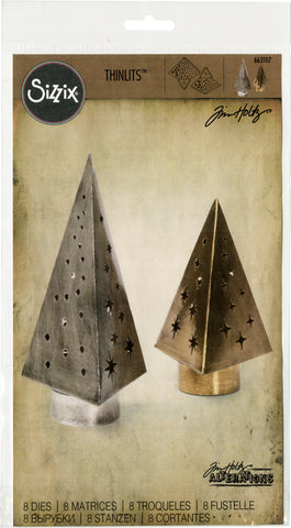 Sizzix Thinlits Dies By Tim Holtz Tree Light 8pk