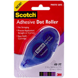 Scotch Adhesive Dot Roller .31inX49ft