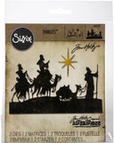 Sizzix Thinlits Dies By Tim Holtz Wise Men 2pk