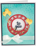 Sizzix 3D Textured Impressions By Courtney Chilson Happy Birthday