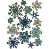 Sizzix Thinlits Dies By Tim Holtz Mini Paper Snowflakes