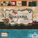 DCWV Paper Stack Mariposa 24 Designs 2 Each 12inX12in 48pk