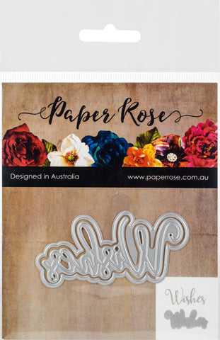 Paper Rose Dies Wishes Layered
