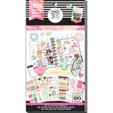 Happy Planner Sticker Value Pack Watercolor Classic 1078pk