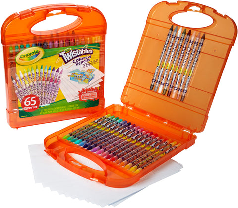 Crayola Twistables Colored Pencil Kit