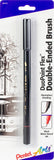 Pentel Arts DuoPoint Flex(TM) Double Ended Brush Pen Black Ink