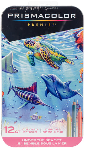 Prismacolor Under The Sea Colored Pencil Set 12pk