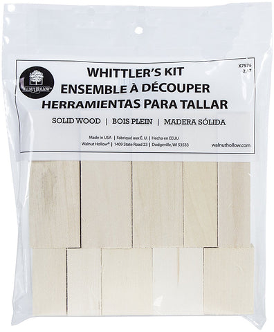 Basswood Whittler's Kit 10pc