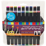 Pro Art Graphic Markers 18pk