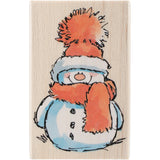 Penny Black Mounted Rubber Stamp Snowy 2.5inX3.75in