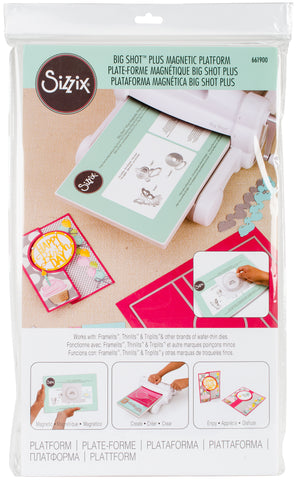 Sizzix Big Shot Plus Accessory Magnetic Platform