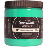 Night Glo Fabric Screen Printing Ink Green 8oz