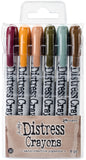 Tim Holtz Distress Crayon Set-Set #10