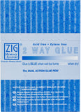 Zig 2-Way Glue Pen Fine Tip 12pk
