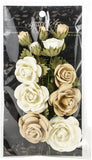 Graphic 45 Staples Rose Bouquet Collection Classic Ivory and Natural Linen 15pk