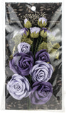 Graphic 45 Staples Rose Bouquet Collection French Lilac and Purple Royalty 15pk