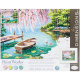 Paint Works Paint By Number Kit Willow Spring Beauty 14inX11in