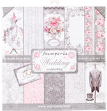 Stamperia Double-Sided Paper Pad Wedding 12inX12in 10pk