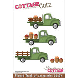 CottageCutz Die 4inx6in Flatbed Truck with Accessories